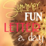 Summer Fun with a Letter a Day