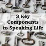 3 Key Components to Speaking Life