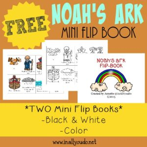 Noah's Ark Mini Flip Book