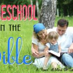 Homeschool IN the Bible