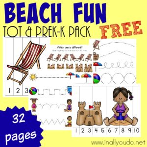Beach Fun Tot & PreK-K Pack