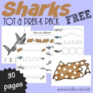 Sharks Tot & PreK-K Pack