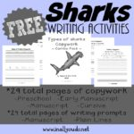 Shark Writing Prompts & Copywork