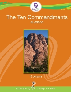 LIMITED TIME ONLY!!! Grab this FREE 10 Commandments eLesson from GrapeVine Studies!! :: www.inallyoudo.net