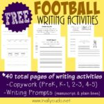 FREE Football Writing Activities