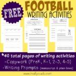 Football Writing Activities