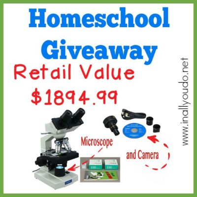 GIVEAWAY: Microscope & Camera ~ $1894.99 value