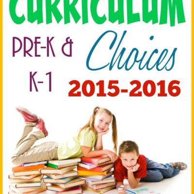 Curriculum Choices: Preschool & K-1