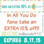 Educents Back-to-School 10% OFF Coupon {LIMITED TIME}