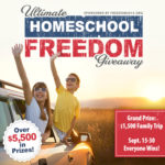 Ultimate Homeschool Freedom GIVEAWAY!! {$5,500+ in PRIZES!}