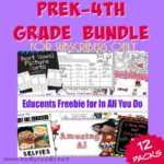 EXCLUSIVE PreK-4th Grade SUBSCRIBER FREEBIE