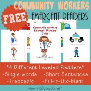 Community Workers Emergent Readers