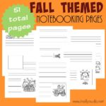 FALL Themed Notebooking Pages