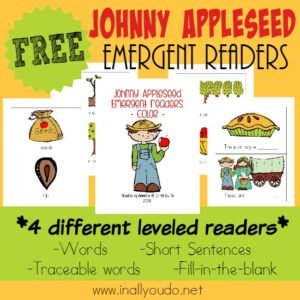 Johnny Appleseed Emergent Readers