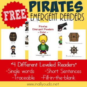 Pirate Emergent Readers