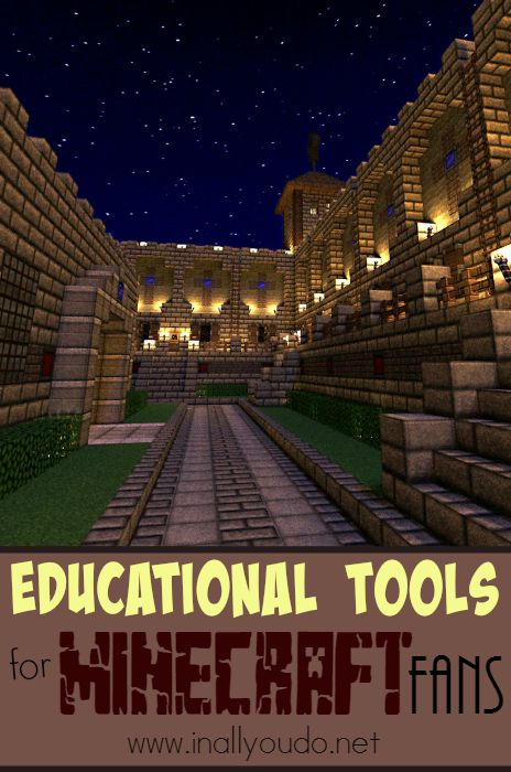 Minecraft can be Educational!! Check out these AWESOME Tools to help your kids learn more about how to create their own Mods in Minecraft and MORE!! {ENDS 10/1} :: www.inallyoudo.net