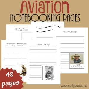 Aviation {Top 10 Pilots} Notebooking Pages