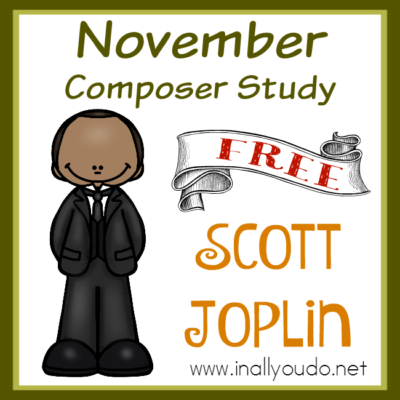 FREE Composer Unit Study: Scott Joplin