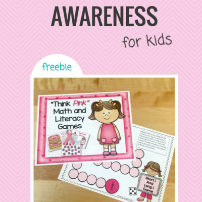 Breast Cancer Awareness for Kids + a FREEBIE