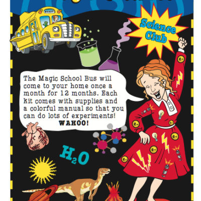 If your kids love The Magic School Bus show & books - check out their Science Club! Get it for 50% OFF thru 10/31!! :: www.inallyoudo.net