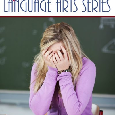A Fun, EASY High School Language Arts Series