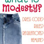 What is Modesty?
