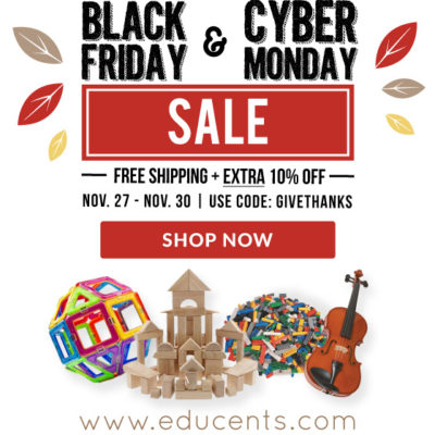 HUGE Black Friday-Cyber Monday Sales at Educents