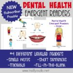 Dental Health Emergent Readers