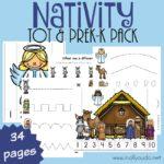 Nativity Tot & PreK-K Pack {34 pages}
