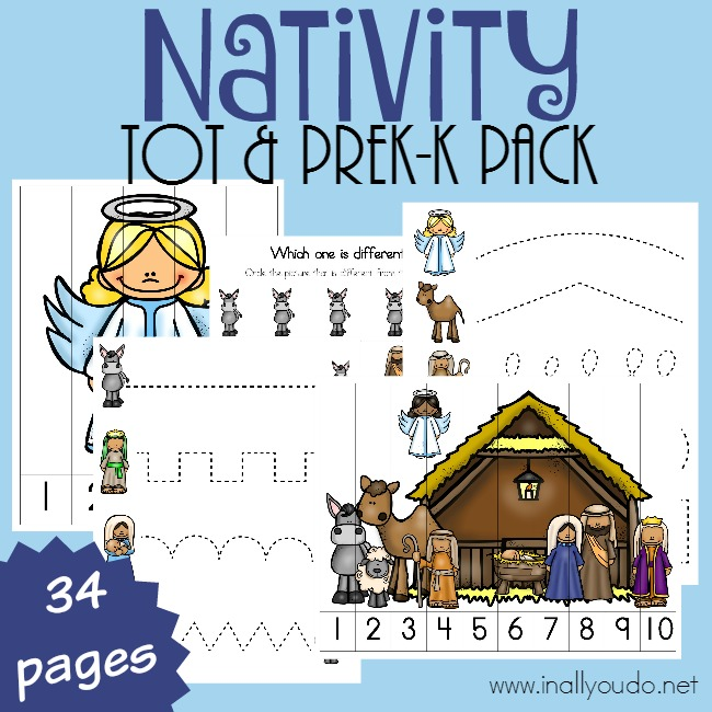 Nativity Tot & PreK-K Pack