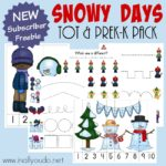 Snowy Days Tot & PreK-K Pack