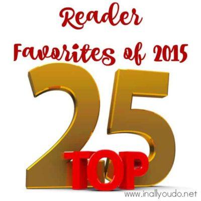 Top 25 Reader Favorites of 2015