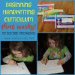 Beginning Handwriting Curriculum that Works!