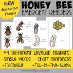 Honey Bee Emergent Readers