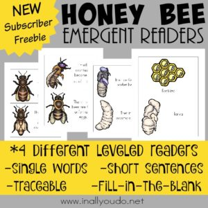 Honey Bee Emergent Readers