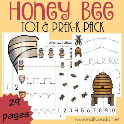 Honey Bee Tot & PreK-K Pack