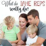 What do IAHE Reps Really Do?