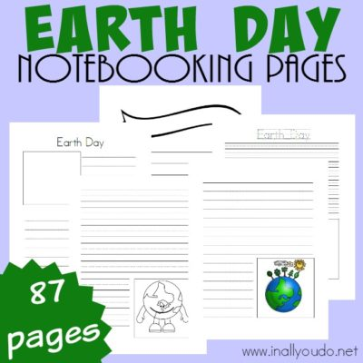 Earth Day Notebooking Pages