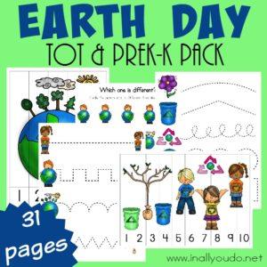 Earth Day Tot & PreK-K Pack