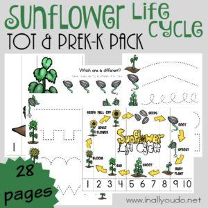 Sunflower Tot & PreK-K Pack