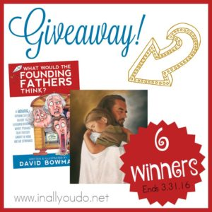 Last chance to enter for your chance to be one of SIX WINNERS!! 3 will win a copy of Bowman's book & 3 will win an 8x10 artwork print! Ends 3.31.16!! :: www.inallyoudo.net