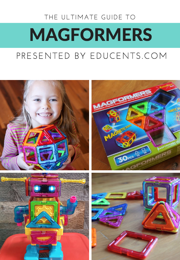 Don't know what Magformers are? Not sure which set is perfect for your child or family? This post is for you! Find out all you need to know about Magformers now! :: www.inallyoudo.net