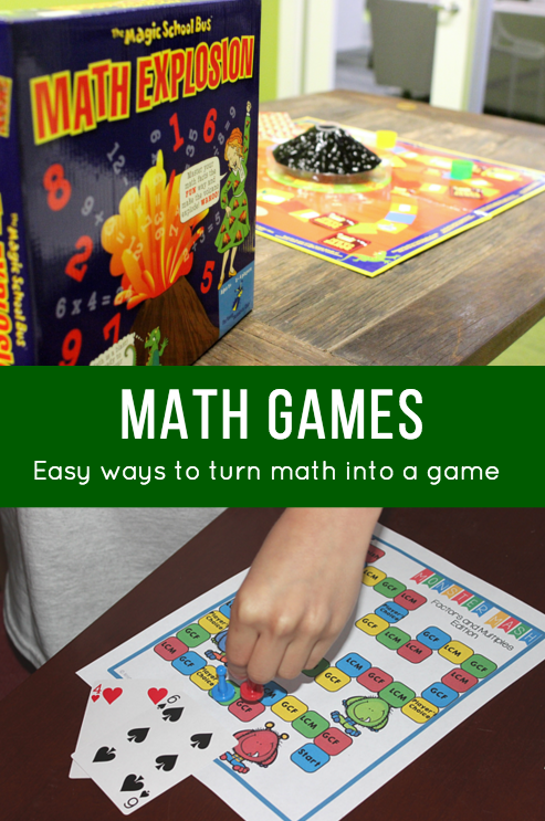 Math games are a great way to introduce new techniques as well as practice their skills. Check these out! :: www.inallyoudo.net