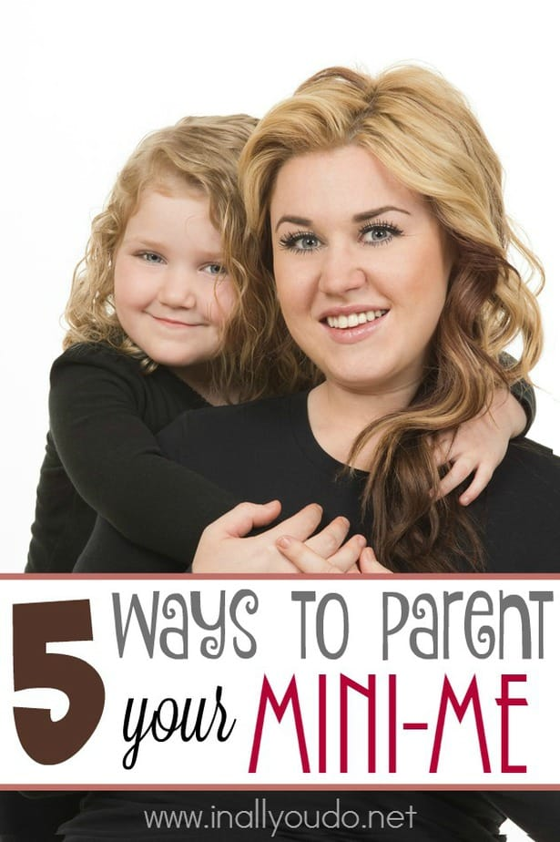 Parenting your mini me might seem like an easy task, but are you doing these 5 things? Check them out here! :: www.inallyoudo.net