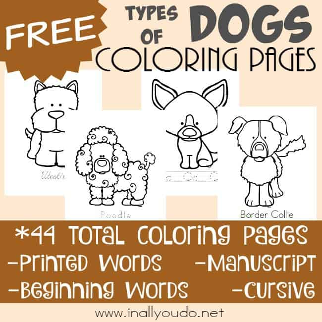 Life in the Woods: Poky Little Puppy Coloring Page Puzzle | 650x650
