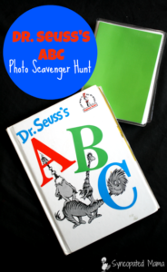 Dr. Seuss's ABC Photo Scavenger Hunt