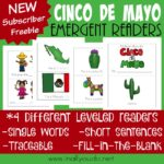 Cinco de Mayo Emergent Readers