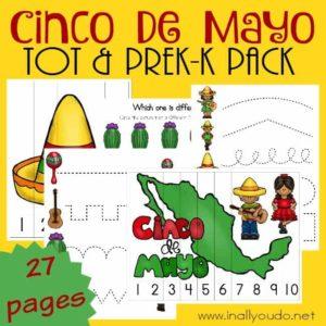 Cinco de Mayo Tot & PreK-K Pack