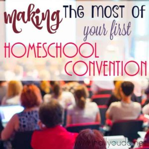 Attending your first homeschool convention can be exciting, but completely overwhelming. Check out these tips to make your experience a success! :: www.inallyoudo.net
