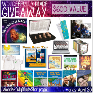 """Enter for your chance to WIN over $600 in prizes including the new release, """"Wonderfully Made""""!! Ends 4.20.16!! :: www.inallyoudo.net"""